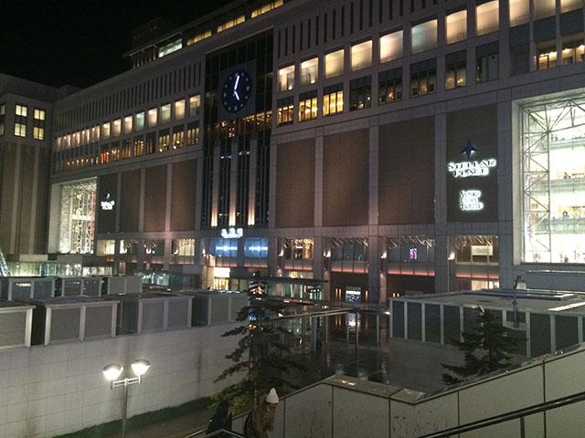 北海道札幌駅のクリスマス