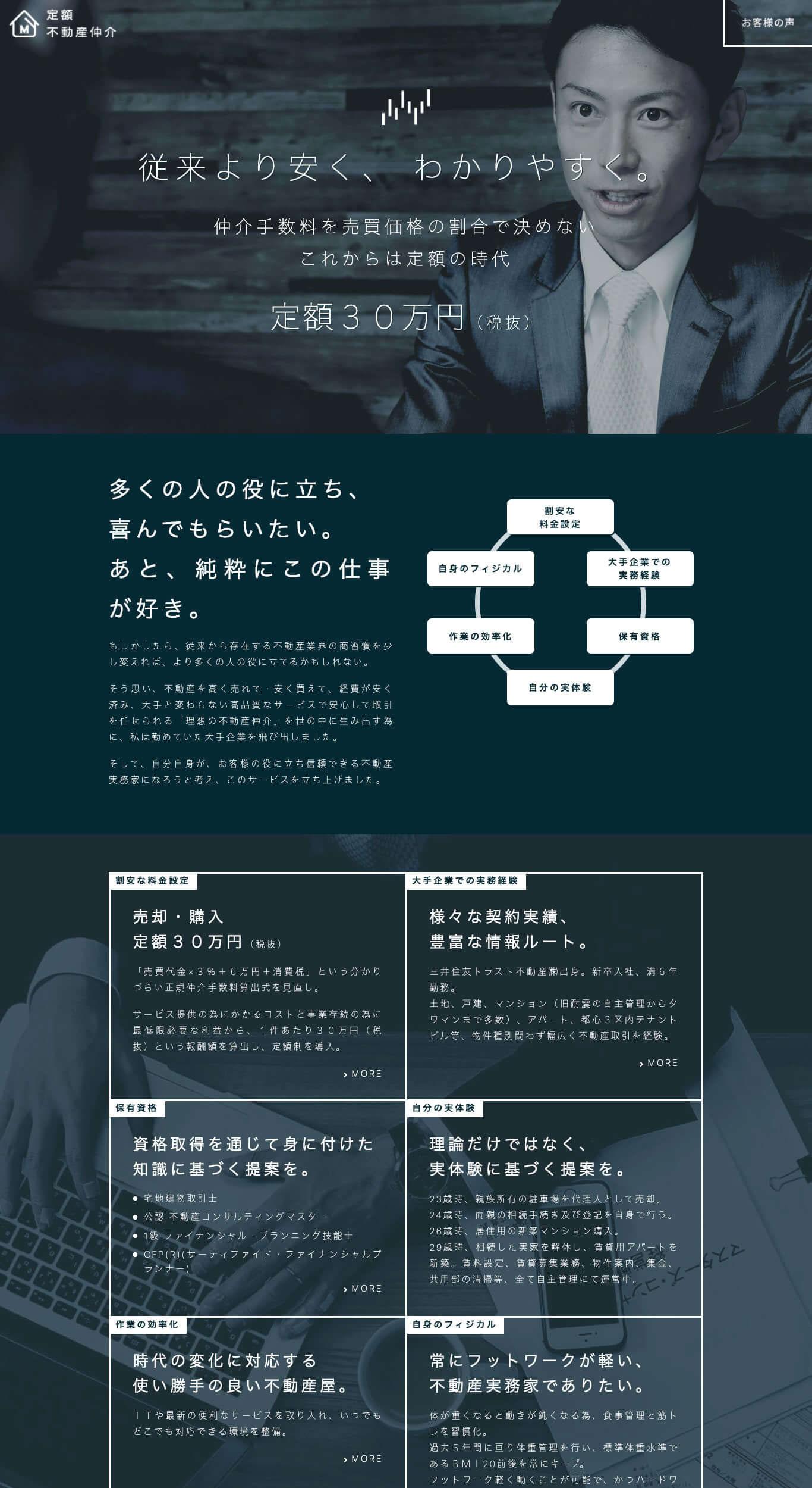 株式会社マスターズ・コンサルティングのウェブデザイン