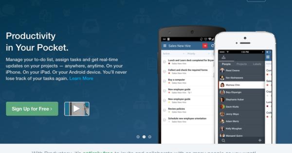 タスク管理アプリ「Producteev」のメンバー運用の基本マニュアル